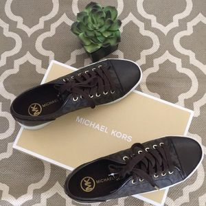 Michael Kors, NWT and box, size 8 sneakers
